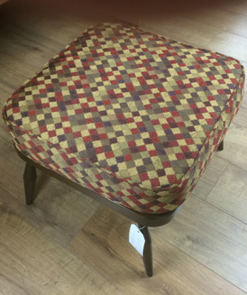 An Ercol footstool re-upholstered and like new!